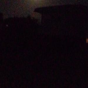 十五夜 曇りで見れず   民芸家具
