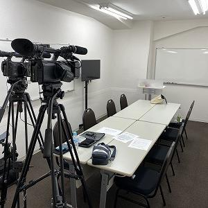 セミナーを、無観客撮影する場合の、最適な部屋の広さは?
