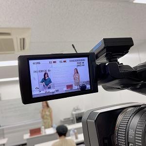 目黒駅でセミナー撮影は、MEGURO1組