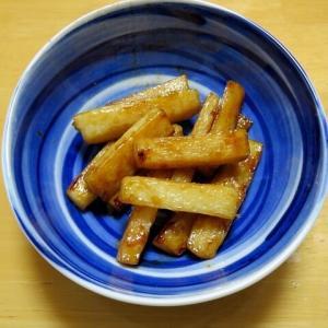 山芋の炒め物