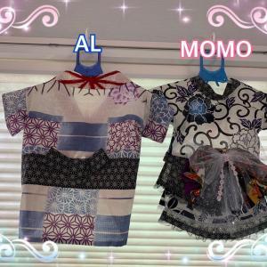 素敵な3才のお誕生日を!浴衣を手作り徳島県OさまMOMOちゃん/ウエスティのルアナちゃんワンバナ