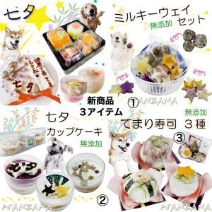 大阪府H様ぼぶ君3才のお誕生日ケーキを/トイプーのポン助くん/イタグレよもぎ&ミニピンセナちゃん