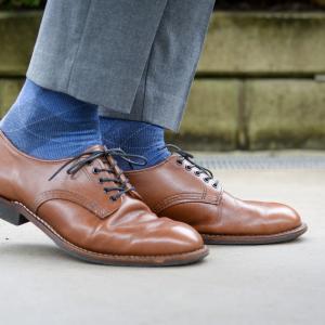 雨靴が手放せない。 レッドウィング ベックマンオックスフォード RW9046