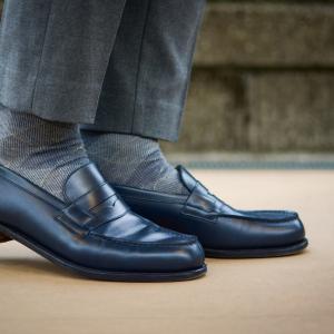 靴を買うなら夏。 J.M.ウェストン 180 Bleu