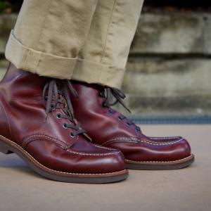 名残靴。 レッドウィング 200シリーズ RW213