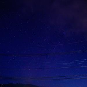 星の観察、夏の大三角形を見つけよう!