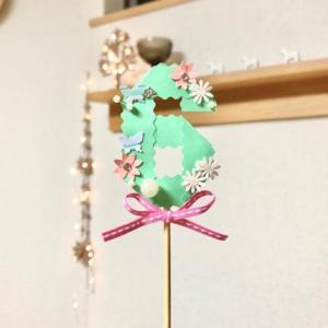 ポチレポ3&【趣味】ケーキトッパー作り