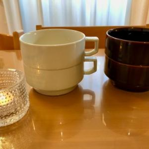 HASAMI ブロックマグ スープと収納@キッチン引き出し