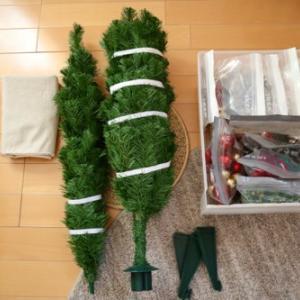 クリスマスツリーの収納2020