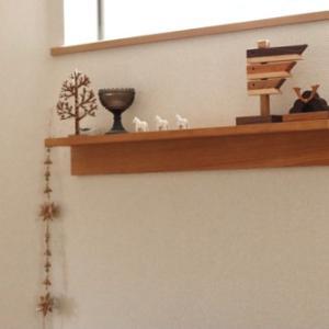 木製鯉のぼりと兜を飾りました&最終ポチレポ