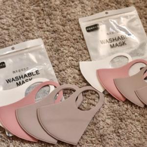 3COINSで買ったもの。洗えるマスクがお気に入り♡