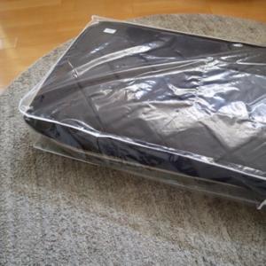 布団の収納。テイジンの体圧分散敷き布団&ポチレポ1