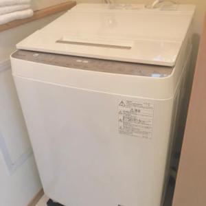 洗濯機(縦型)を買い換えました!