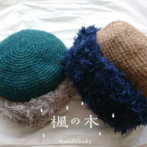 明日から手編みニット帽のPOP-UP SHOP⭐️