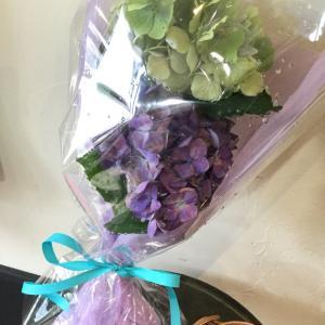 お花を頂きました^_^