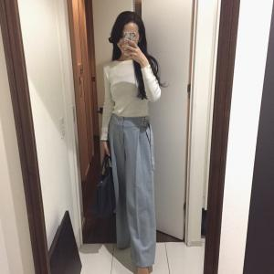 ミント色パンツのコーデと渋谷で見つけたもの。