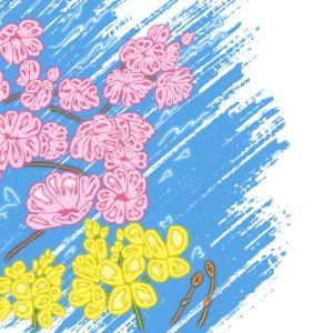 春の絵葉書