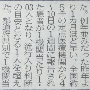 沖縄・インフルダントツの全国一