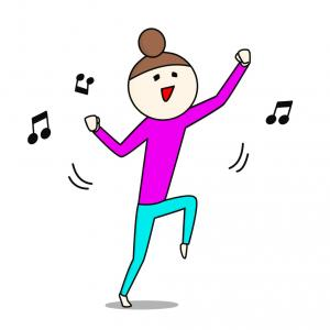 懐かしのダンスの振りつけ。。。♪