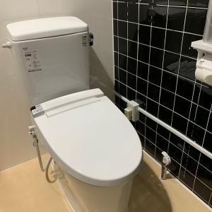全館、トイレ水洗化が完了!