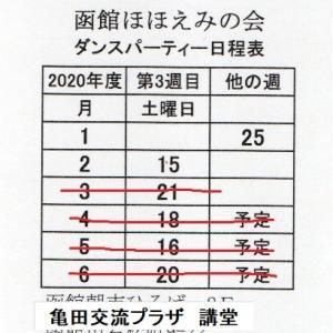 202004 ほほえみ会ダンスパーティーの今後について
