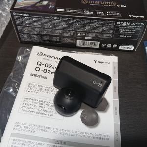 全天球型ドライブレコーダーQ02d取付