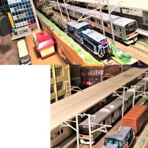 コロナ禍で、再び活用が見直されている貨物列車…ジオラマ模型にも「仙台と京葉を知る、オレ流」機関車