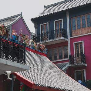 """チュラ大裏の小さな中国""""龍城(Dragon Town)""""と、本家中華街でひんやり中華デザート。"""
