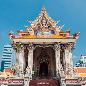 """二度見不可避、自由すぎるウルトラ3D寺""""ワット・パリワート(Wat Pariwat)""""。(写真30枚)"""