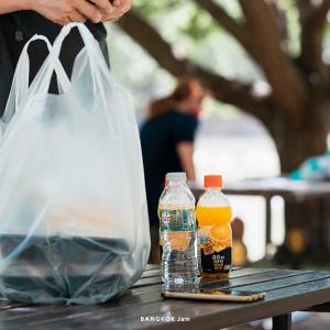 ベンチャシリ公園で Orange House(オレンジハウス)のお弁当を食べる週末、アウトドア弁当!