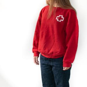 イギリス軍 コンバットスモック デザートDPMカモ&スペイン赤十字スウェットシャツ!!