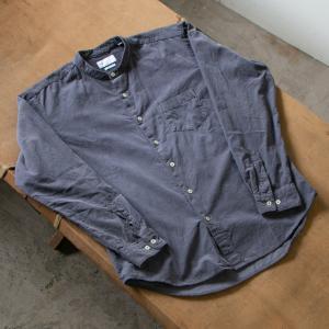 Mr.OLDMAN スピンドルプルオーバー & MANUAL ALPHABET ウールバンドカラーシャツ!!