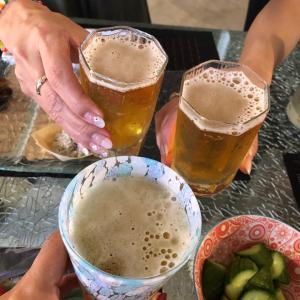 平日の日本酒会❣️