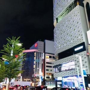 銀座の夜(*☻-☻*)