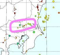 *地震が静かになった九州、埼玉・茨城一帯では8回の地震発生。