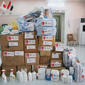 【イラクにマスクを】第一回ハルシャムPHC感染症対策支援を実施しました!