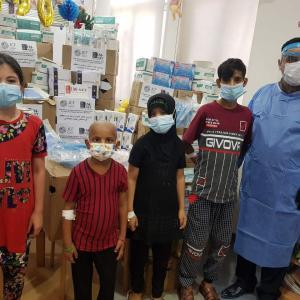 【イラクにマスクを】バスラ子ども病院に対し感染症対策支援を実施しました!