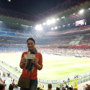 ◆サンシーロでサッカー観戦