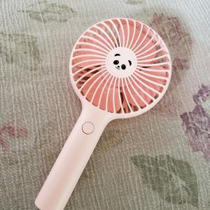 ◆パンダちゃんハンディ扇風機