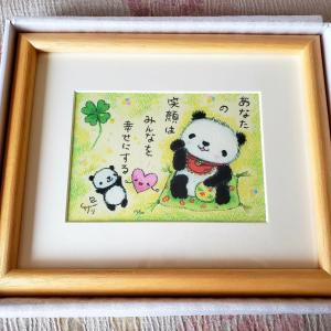 ◆クレヨン画家サリーさんのパンダちゃんクレヨン画