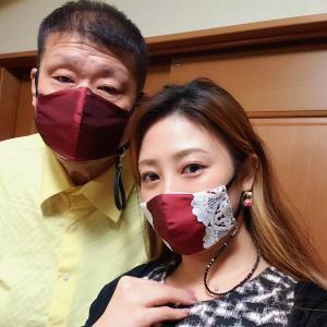 ◆お揃いのマスクいただきました