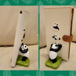 ◆パンダちゃんスマホスタンド
