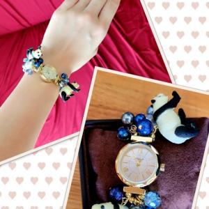 ◆パンダちゃん腕時計