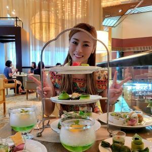 ◆抹茶スイーツブッフェ&パンダちゃん