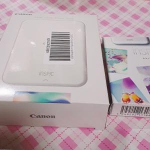 Canon スマホプリンター iNSPiC PV-123-SP♬︎♡