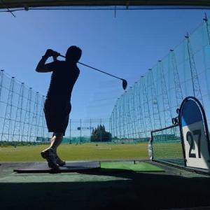日興ゴルフクラブCUEで打ちっぱなし ~打ち放題 1500円~