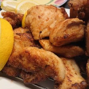 我が家の夕食 ~鶏の唐揚げ~