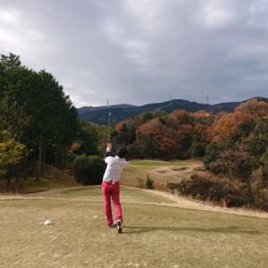 上石津ゴルフ倶楽部でゴルフ その1 ~久々の100切りなるか?、旬彩和膳~