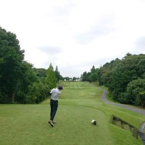 小萱チェリークリークCCでゴルフ 7月編 その1 ~何とか雨は降らず、久々の100切りなるか?、うどんころ定食~