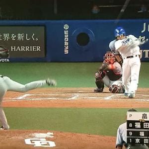 ドラゴンズ 福田の逆転3ラン!巨人に連勝!! ~中日3-1巨人~
